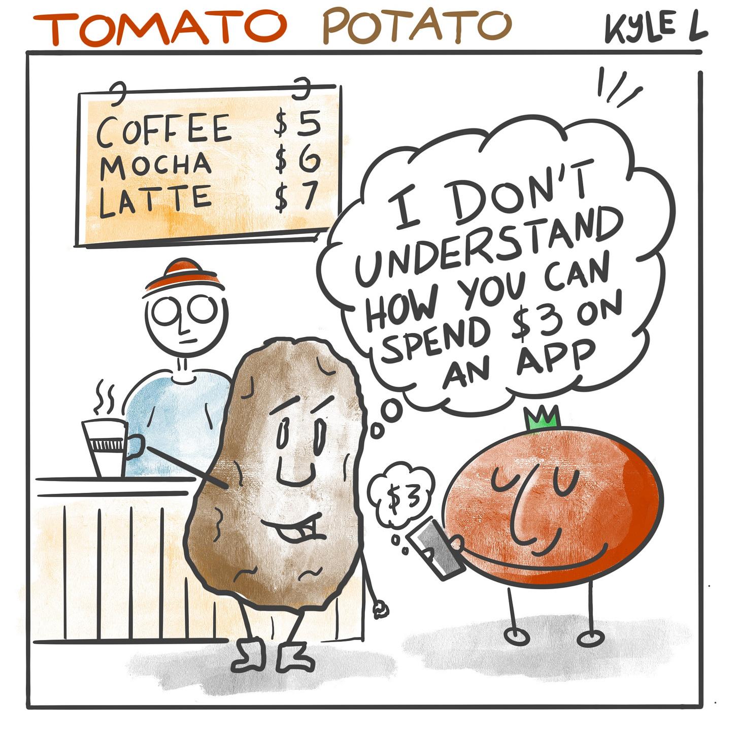 Tomato Potato comic