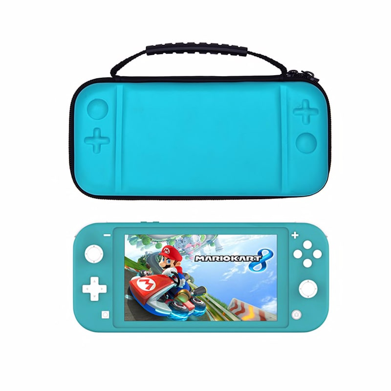 Carrying Case for Switch Lite , Protective Hard Shell Cover Travel Storage Bag with 8 Game Cartridges for Switch Lite Accessorie
