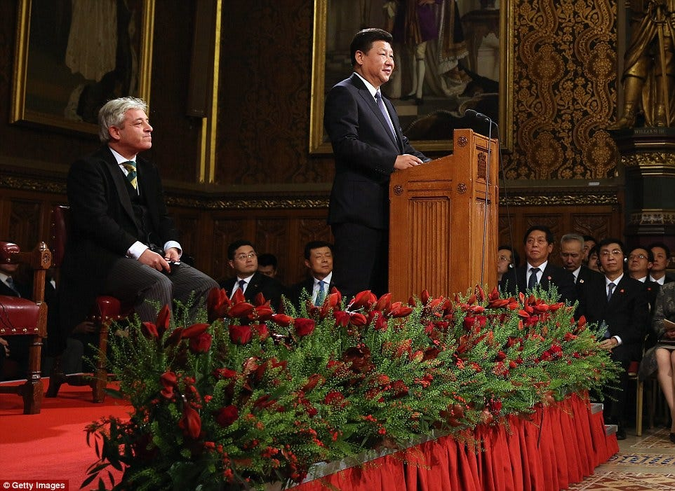 Xi Jinping defends China's 'ancient' way of life during address to  Parliament | Daily Mail Online
