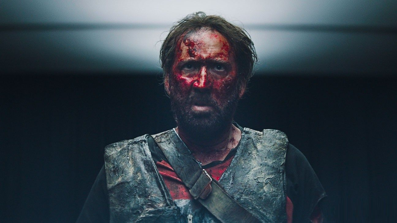 Nicholas Cage as Red in Mandy