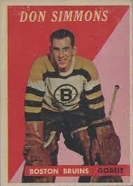 Don Simmons: Outstanding Stanley Cup Goaltending Relief