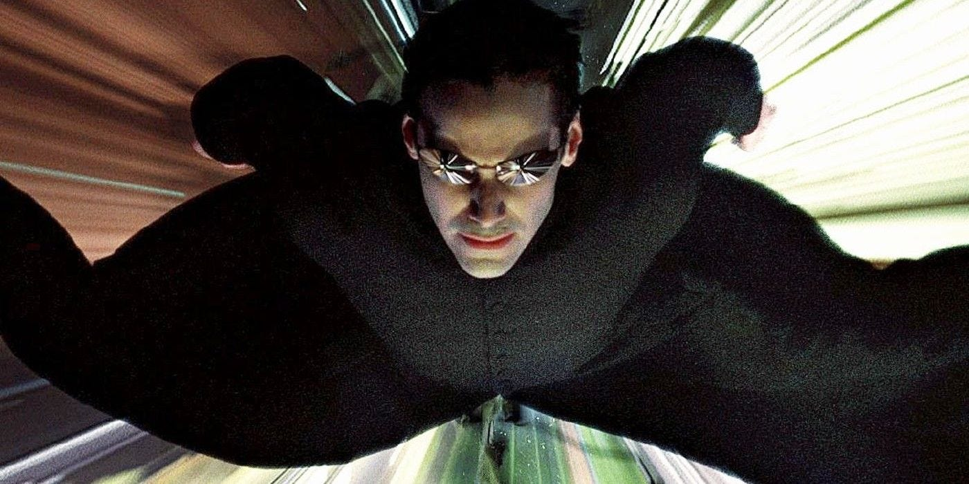 The Matrix: Why Neo Can Fly At The End of the First Movie