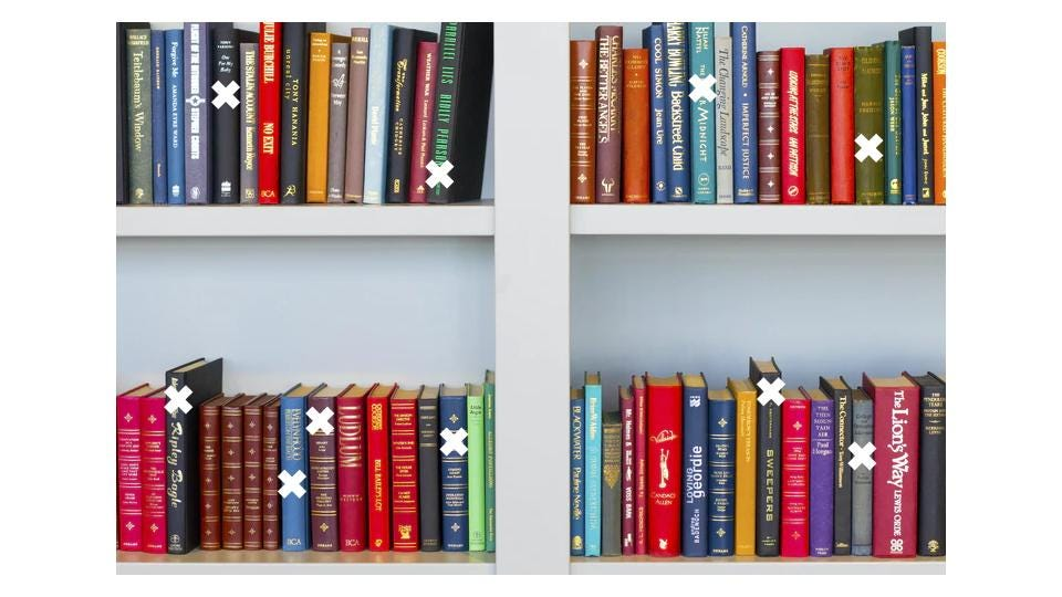 The antilibrary - a personal collection of unread books