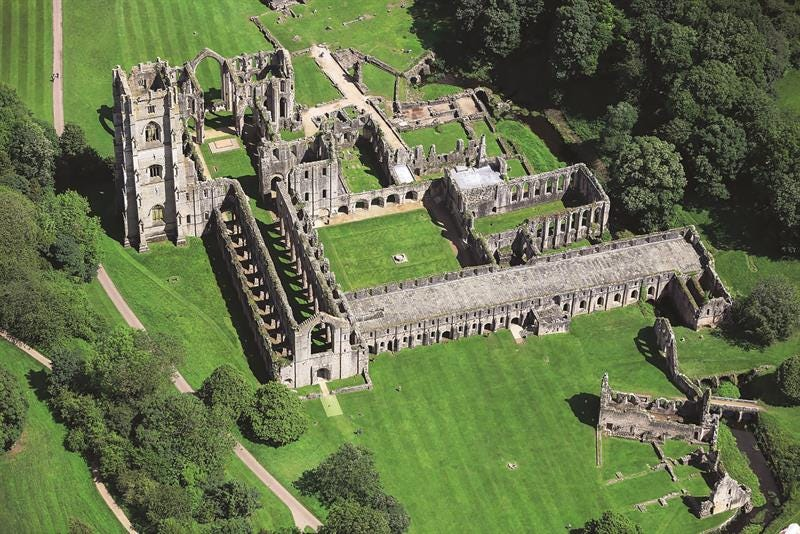 Recycling at historical Yorkshire site Fountains Abbey has never been easier