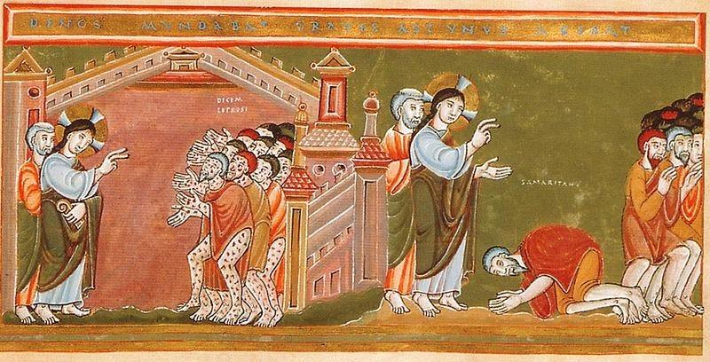 File:CodexAureus Cleansing of the ten lepers.jpg