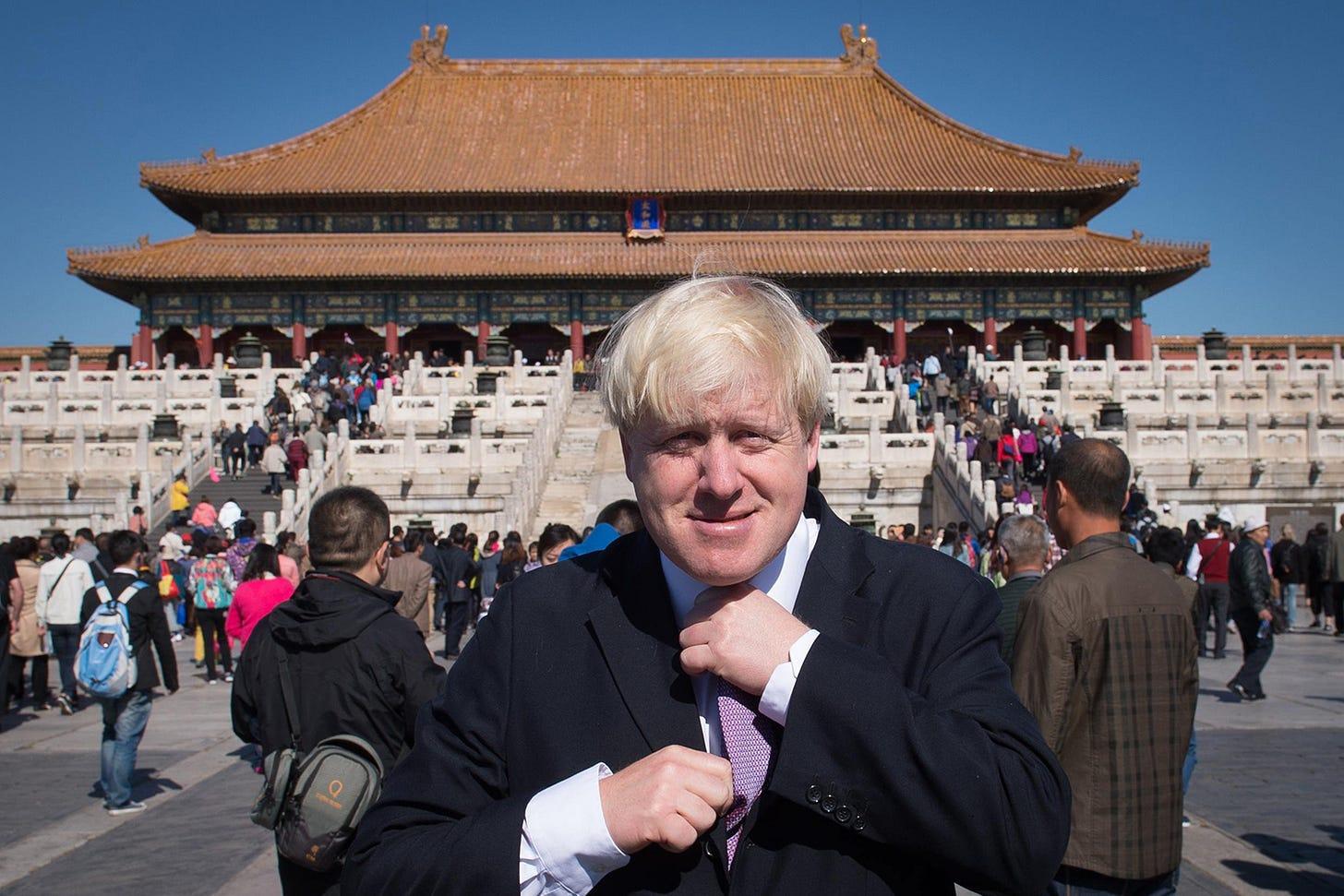 Boris Johnson's Remarkable U-Turn From Sinophile to China Hawk