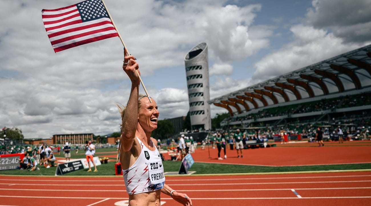 courtney frerichs american record steeplechase