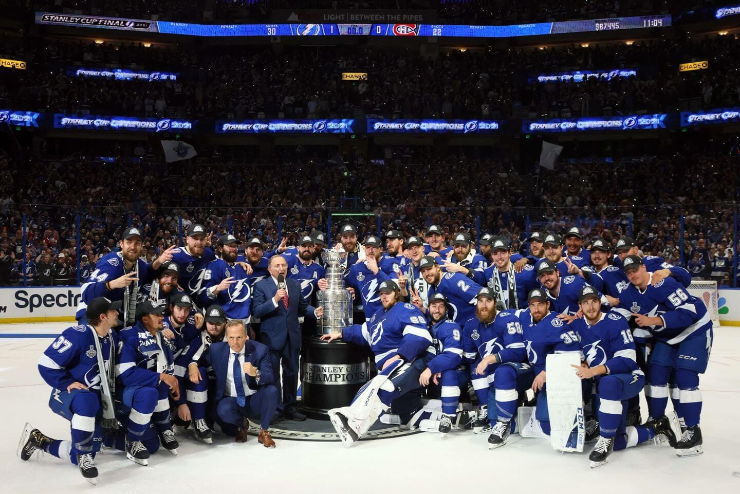 Stanley Cup Final: Lightning win Stanley Cup, beat Canadiens 1-0 in Game 5  - The Athletic