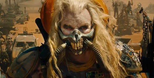 """"""" Do not, my friends, become addicted to water. It will take hold of you, and you will resent its absence!"""" -Immortan Joe, """"Mad Max: Fury Road"""""""