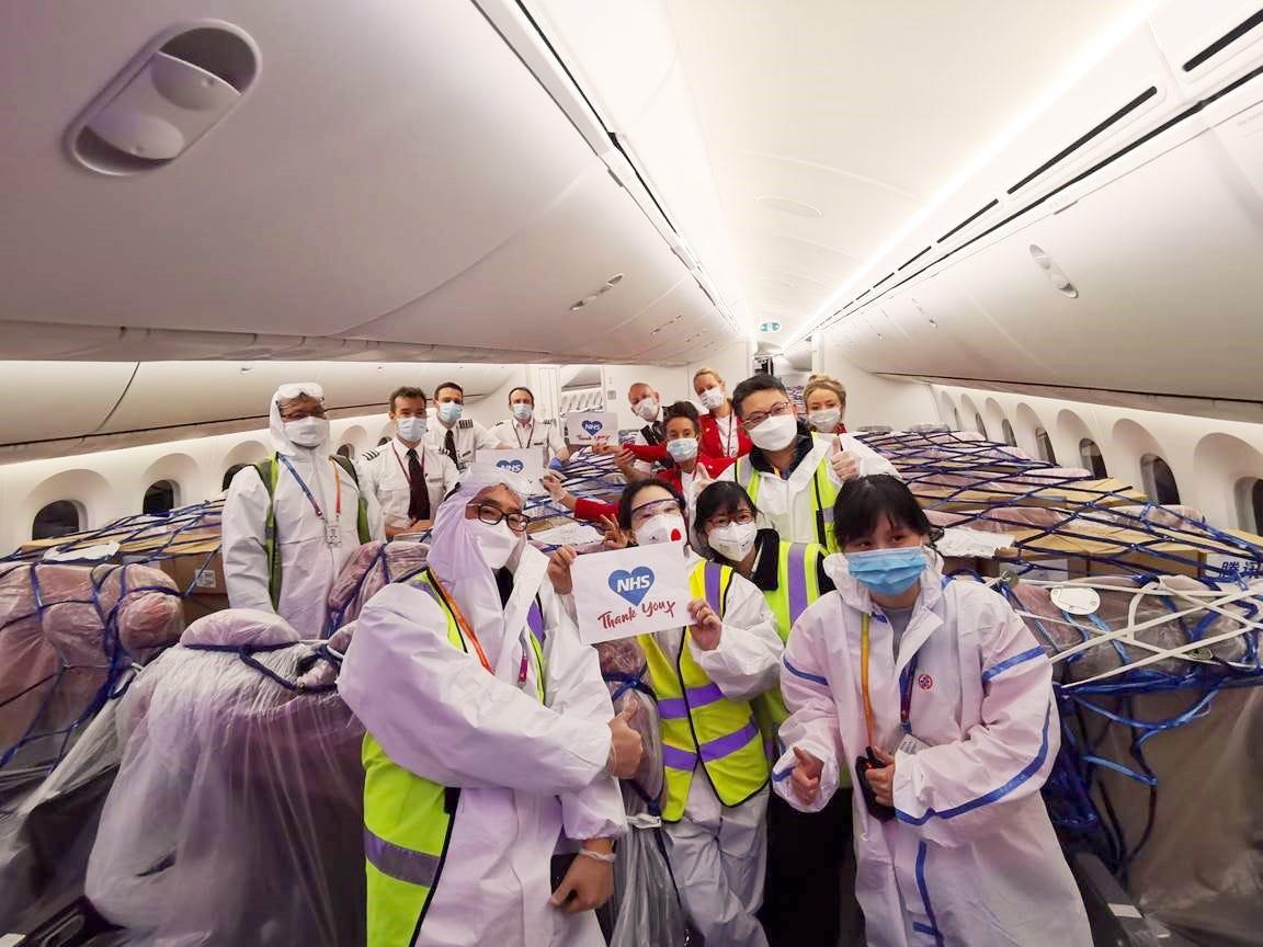 Virgin Atlantic cargo-only flights