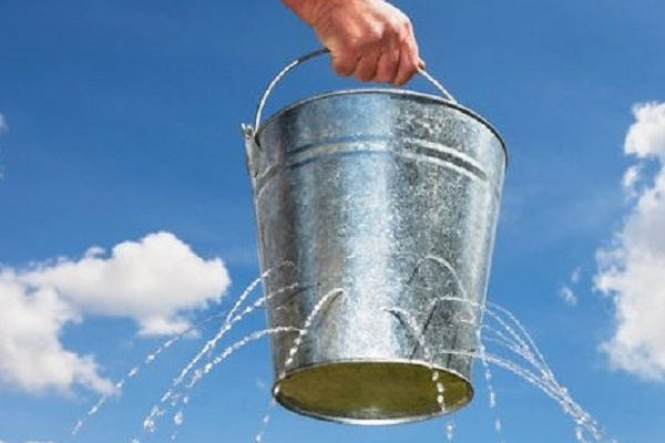 There's a hole in my bucket - NCSC.GOV.UK