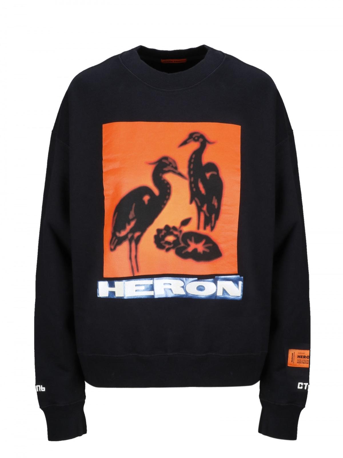HWBA003E19808001 | Heron Preston crewneck sweatshirt