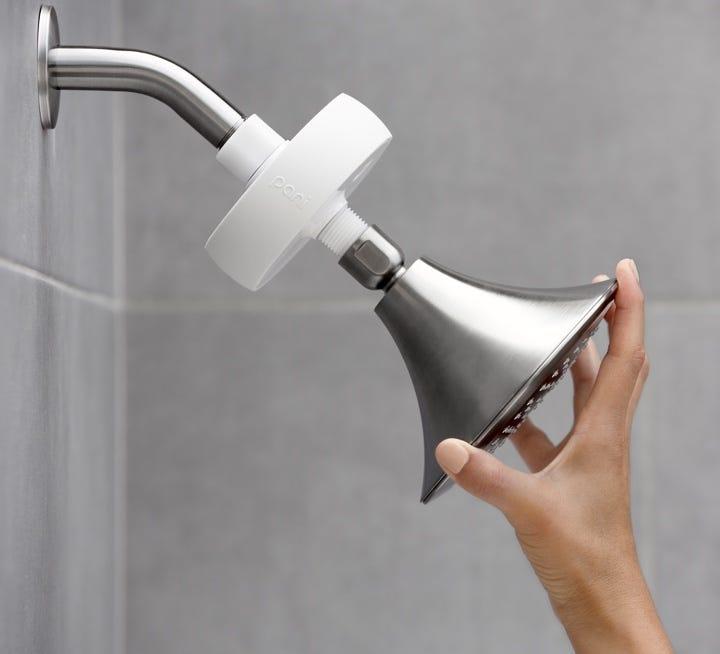 Pani easy installation on shower head