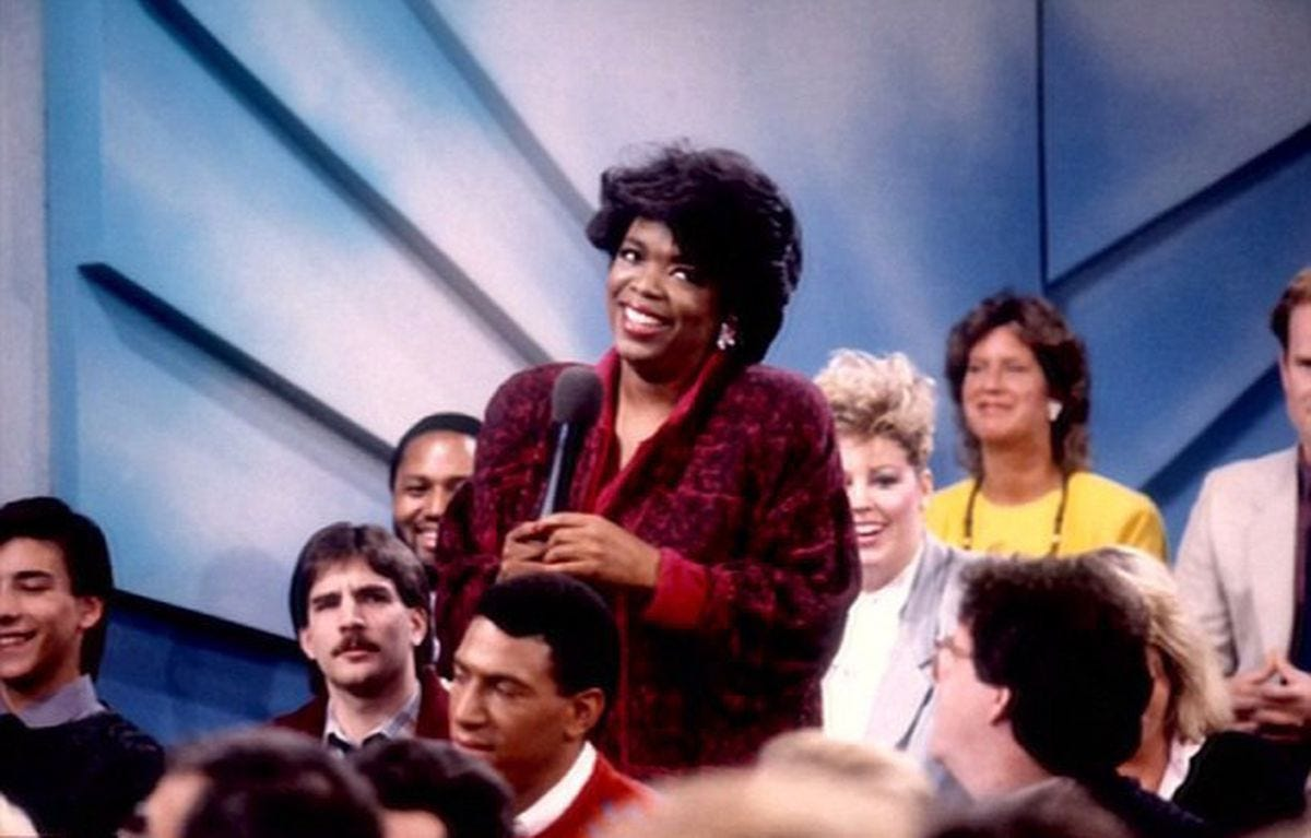 The Oprah Winfrey Show' airs nationally in 1986 - New York Daily News