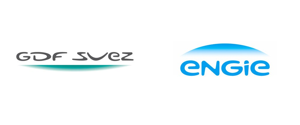 Brand New: New Name, Logo, and Identity for Engie by Carré Noir