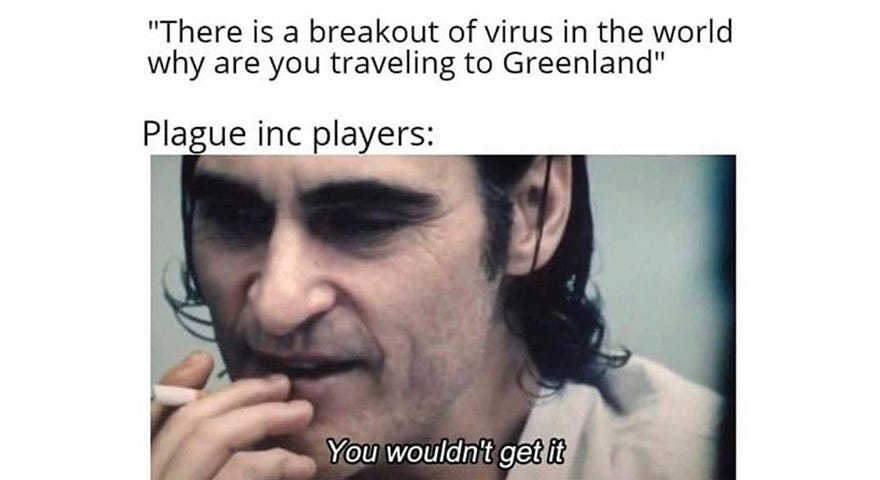Coronavirus, Plague & Greenland Memes - StayHipp