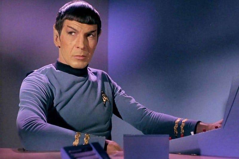 image of Spock from StarTrek