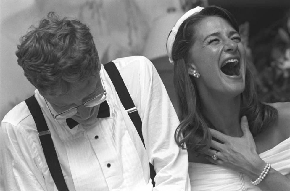 Bill y Melinda Gates, 25 años de matrimonio, risas y millones | Gente y  Famosos | EL PAÍS