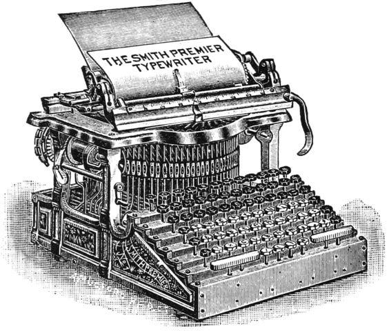 A typrewriter