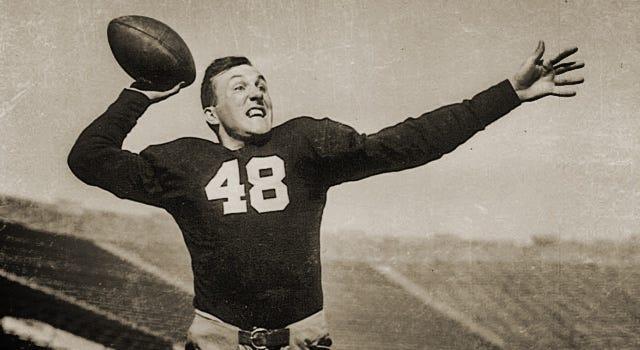 Angelo Bertelli - 1943 Heisman Winner // Notre Dame HIstory
