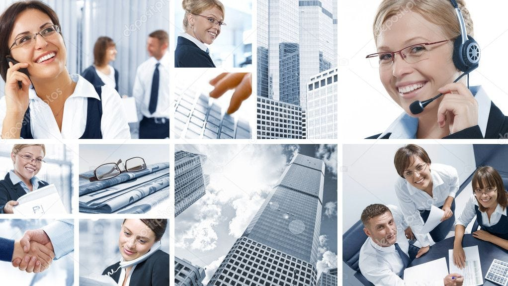 Corporate mix ⬇ Stock Photo, Image by © ersler #4399342