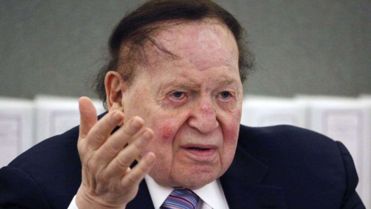 Sheldon Adelson, Las Vegas Sands CEO, dies at age 87