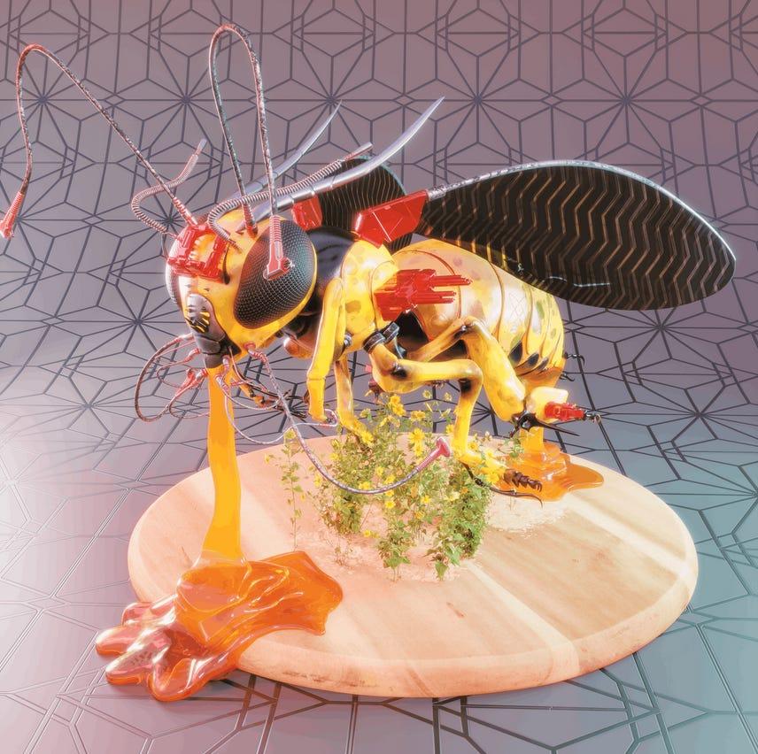 Bee bot 2 by Julio Cesar Benavides Macias
