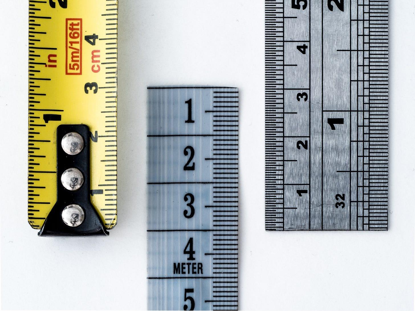 3 tape measures