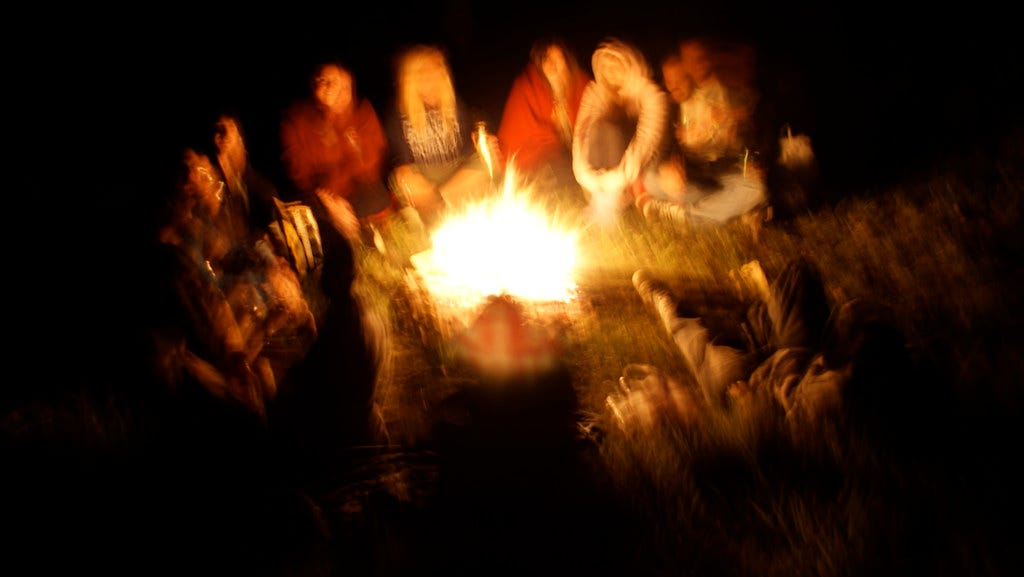 """""""Camp Fire"""" by charlesdyer is licensed under CC BY-SA 2.0"""