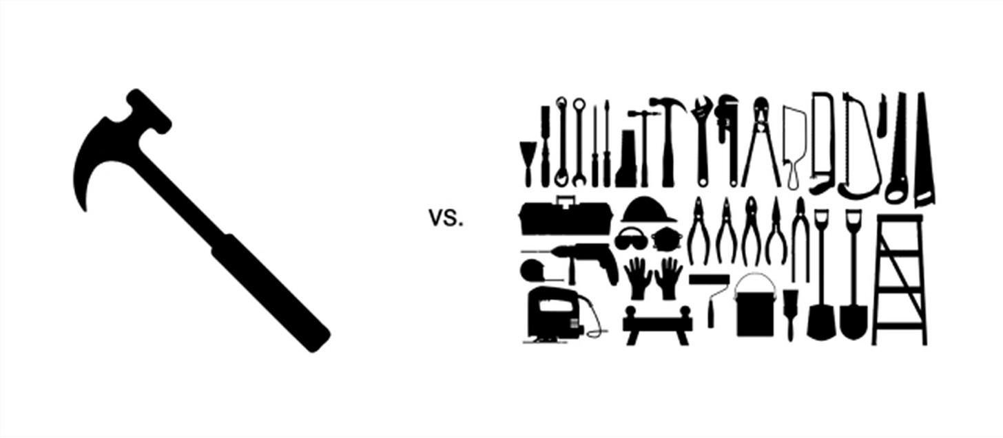 Tool vs Toolbox