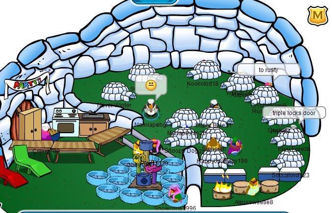 Igloo Ideas   Club Penguin Fan Site