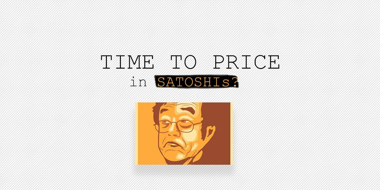 Is it Time to Start Using Satoshi as a Price Marker? - Asia Crypto Today