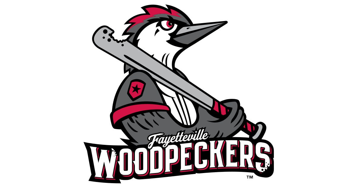 Image result for fayetteville woodpeckers