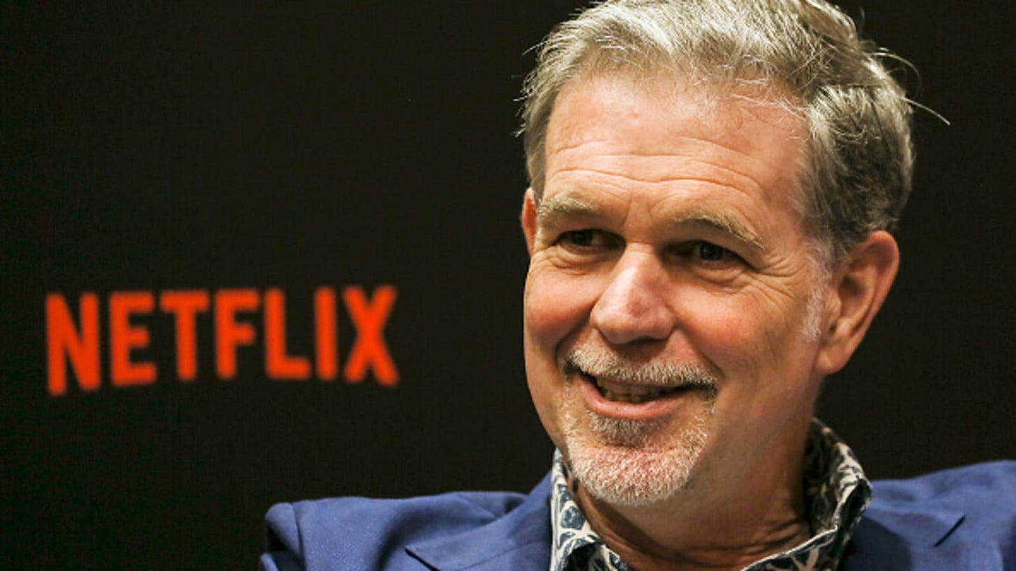 Netflix co-CEO Reed Hastings: Focus on employees you'd fight to keep