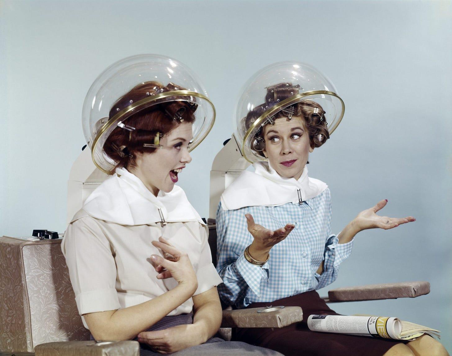 """Image result for women hairdresser uk b&w"""""""