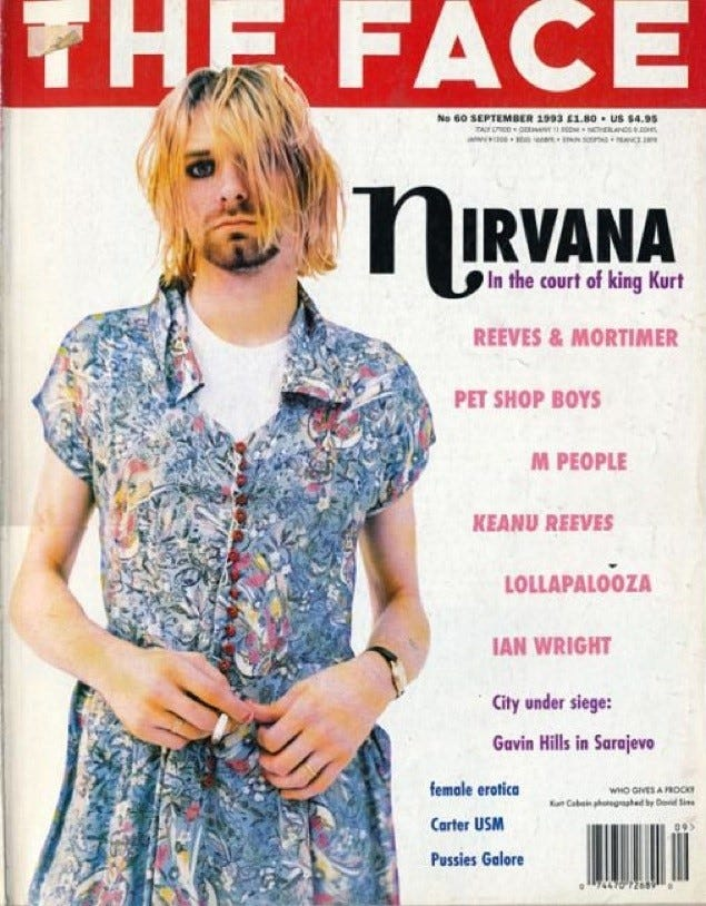 Kurt Cobain's Feminist Fashion Appeal | AnOther