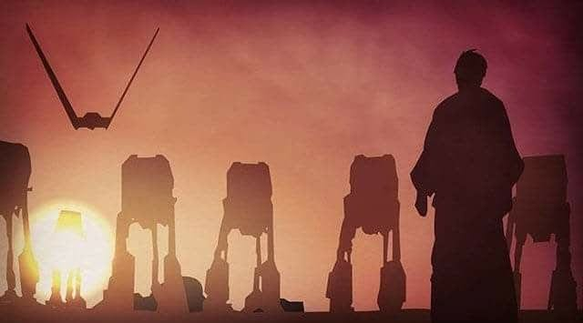 Image result for the last jedi luke and the first order
