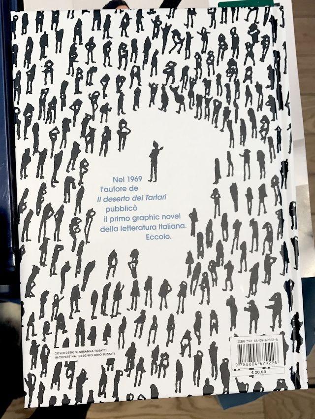 Poema a fumetti, dettaglio quarta di copertina