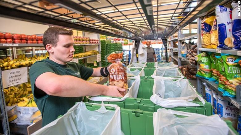Stop & Shop has an approximately 40,000-square-foot dark store in Whitman, Massachusetts, on the site of a former grocery store tailored to make deliveries.