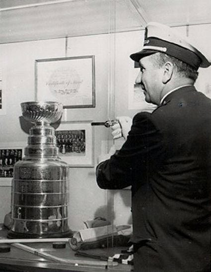 Third String Goalie: The 1962 April Fools' Day Theft of the Stanley Cup