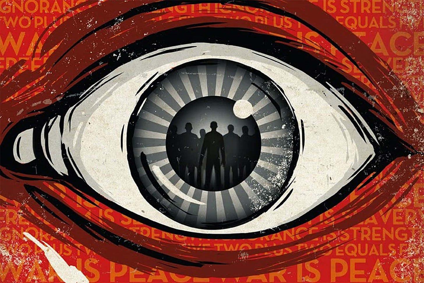 Resultado de imagen de orwell dystopia