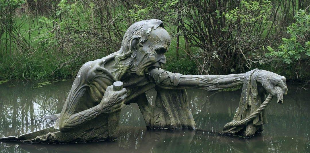BetweenMirrors.com | Reflections In Art + Culture: VICTOR'S WAY SCULPTURE  PARK: A Contemplative Garden Gallery