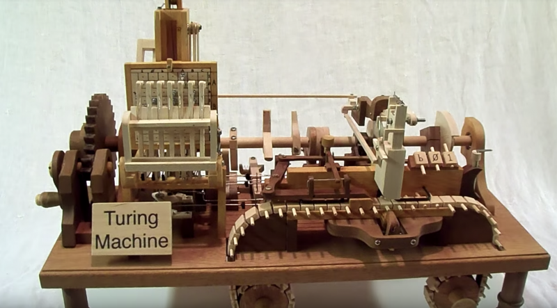 A Turing Machine Handmade Out of Wood   Open Culture