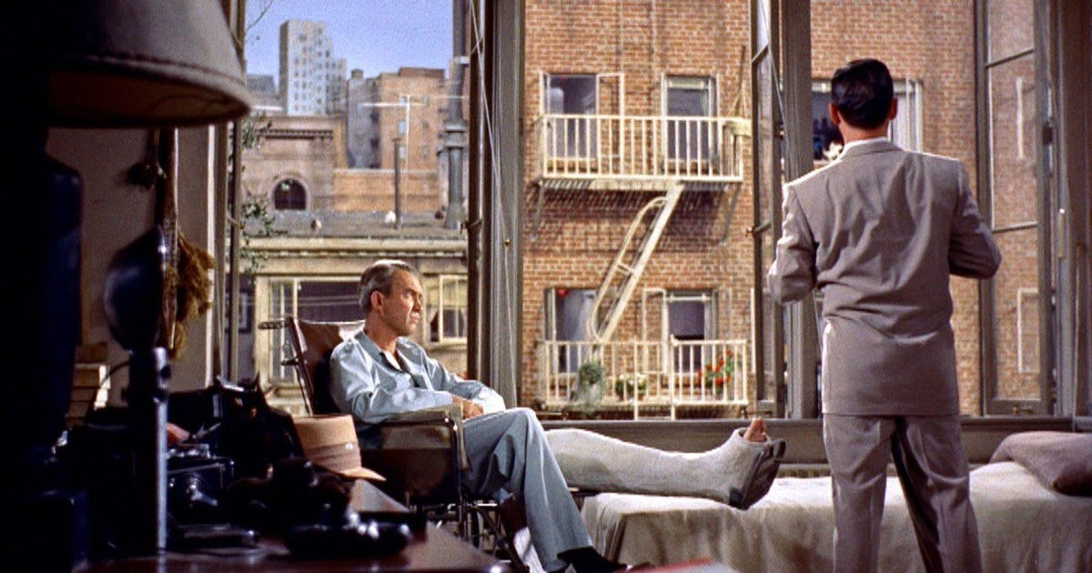 just so cranky in my gorgeous apartment being jimmy stewart