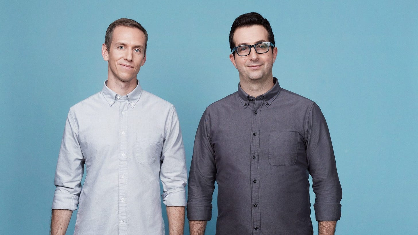 Harry's founders Andy Katz-Mayfield and Jeff Raider