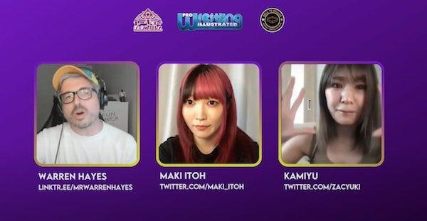 Warren Hayes interviews Maki Itoh and Kamiyu