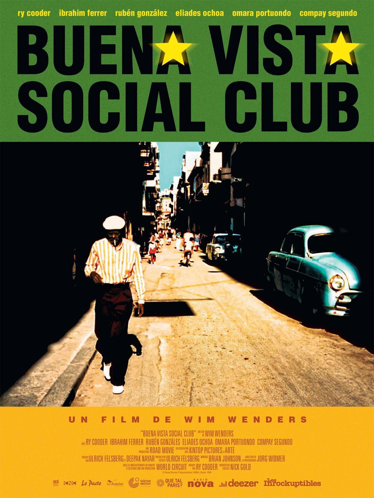 Achat Buena Vista Social Club en DVD - AlloCiné