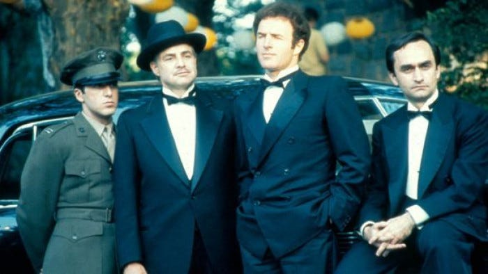 25 THINGS YOU (PROBABLY) DIDN'T KNOW ABOUT THE GODFATHER