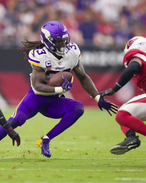 Vikings RB Dalvin Cook misses practice for second straight day with ankle  injury - Sports Illustrated Minnesota Vikings News, Analysis and More