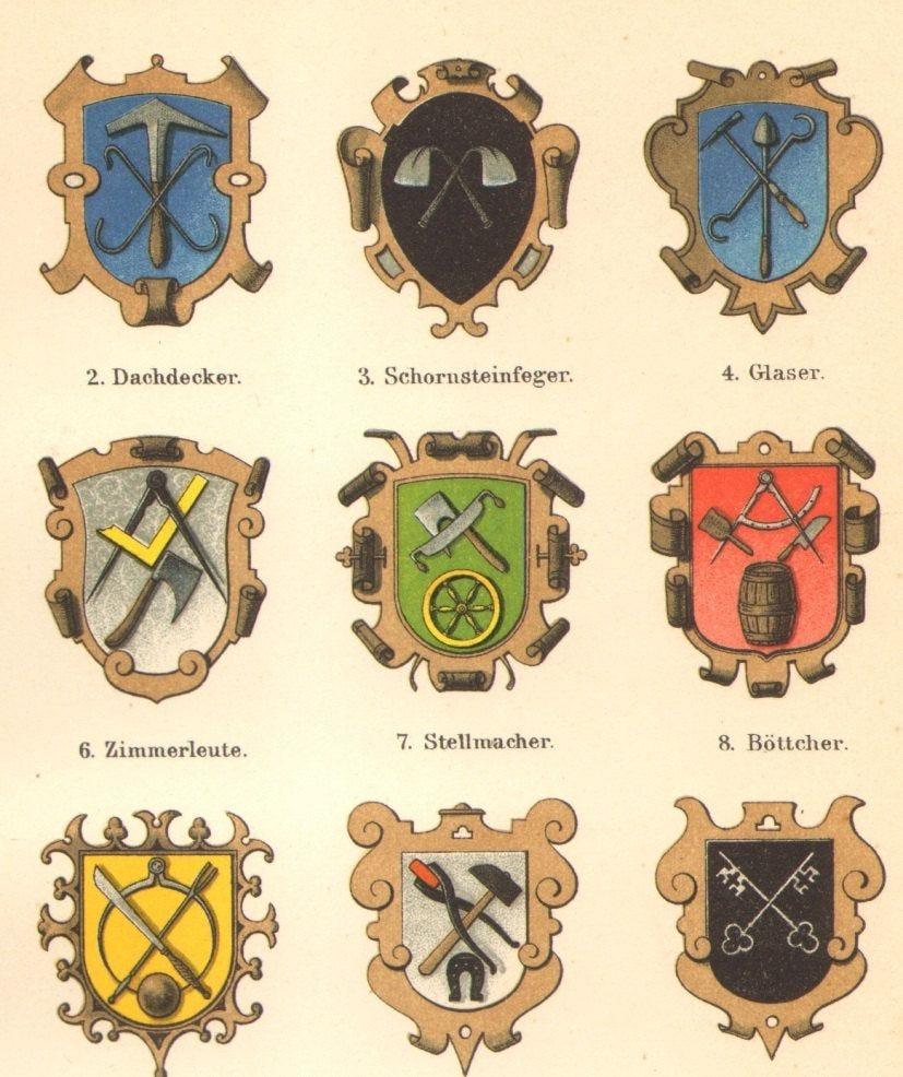 Image result for guild heraldry